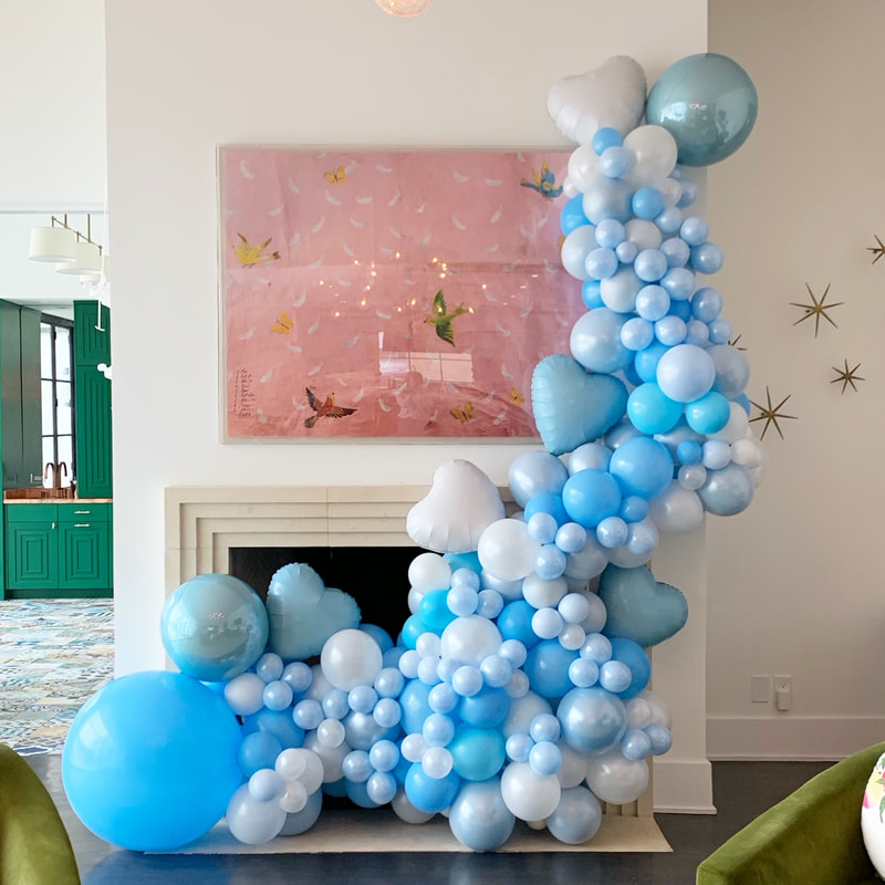 Baby Shower Balloon Decorations Baby Shower Balloon