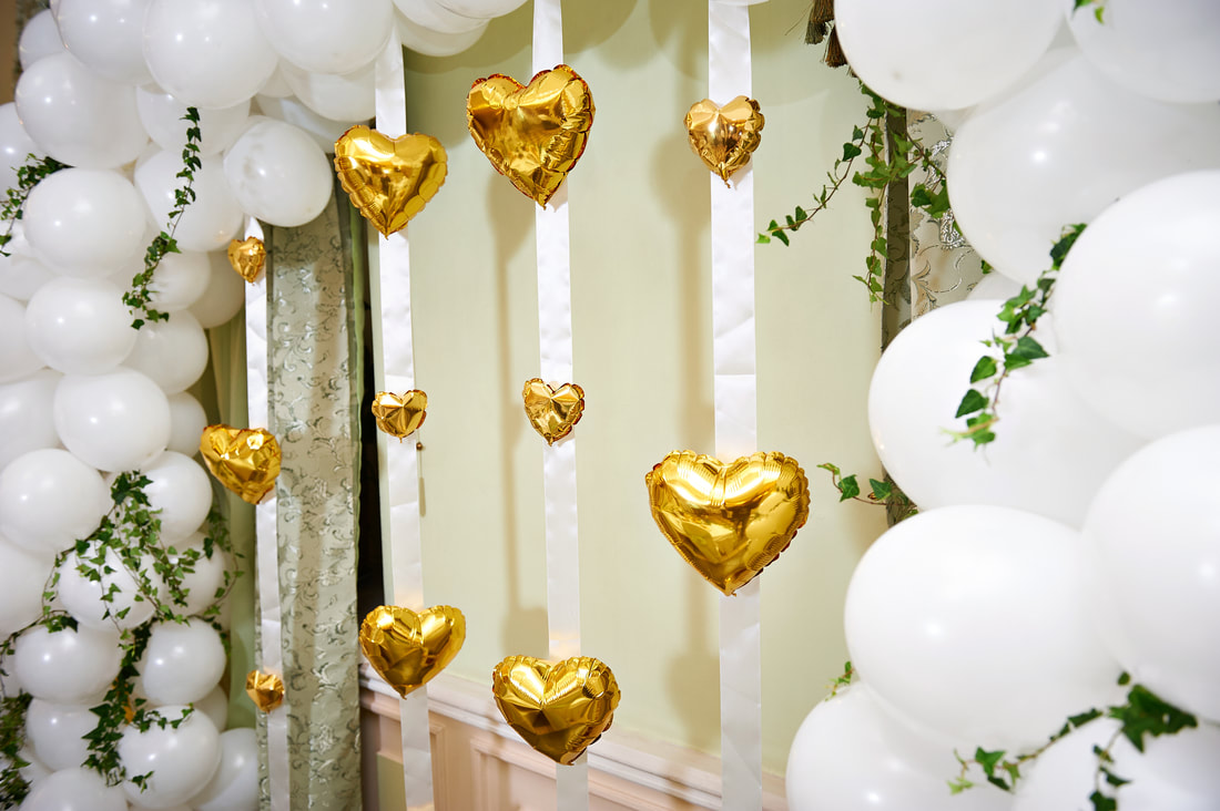 balloon arch for quinceanera